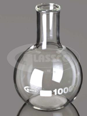 Flask, Flat Bottom, Narrow Neck