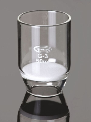 Filter, Crucible, with sintered disc, ASTM 255.G00.01
