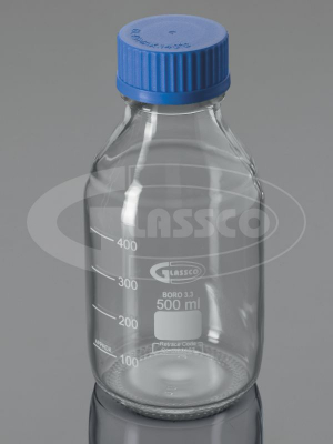 bottles reagent clear screw neck