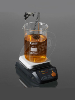 Magnetic Stirrer with digital hotplate, glass ceramic top