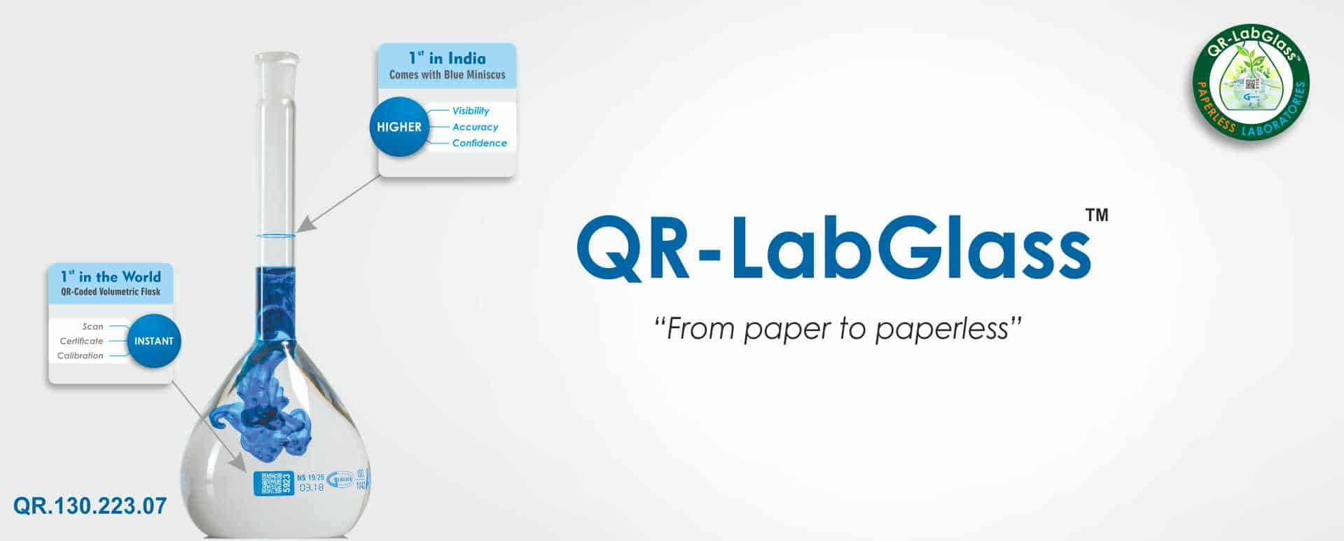 QR Lab Glass