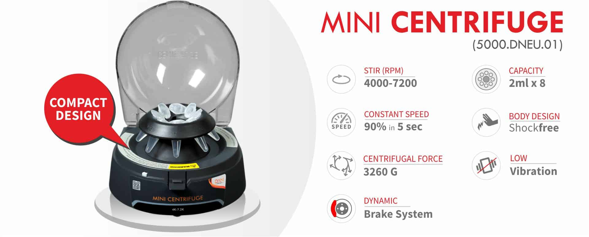 mini centrifuge Banner